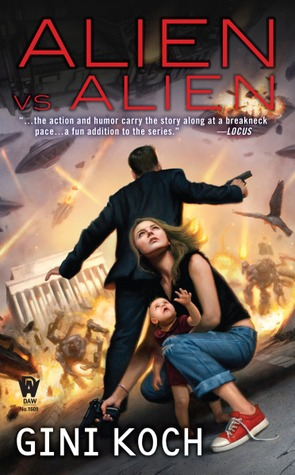 Book Review: Gini Koch's Alien vs. Alien