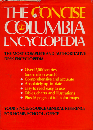 The Concise Columbia Encyclopedia Judith Levey