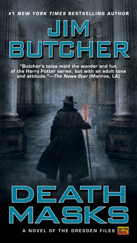 Book Review: Jim Butcher's Death Masks