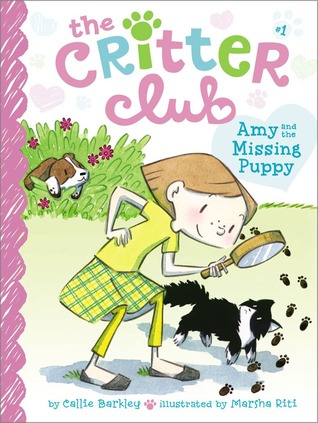 Amy and the Missing Puppy (Critter Club, #1)