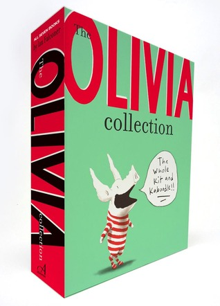 The Olivia Collection: Olivia; Olivia Saves the Circus; Olivia...and the Missing Toy; Olivia Forms a Band; Olivia Helps with Christmas; Olivia Goes to Venice; Olivia and the Fairy Princesses
