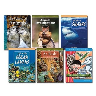 All about Animals Set: 6 Titles  by  Teacher Created Materials
