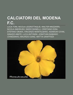 Calciatori del Modena F.C.: Luca Toni, Nicola Legrottaglie, Walter Mazzarri, Nicola Amoruso, Dario Dainelli, Cristiano Doni, Stefano Okaka Source Wikipedia