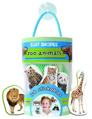 Soft Shapes Tub Stickables: zoo animals  by  Ikids