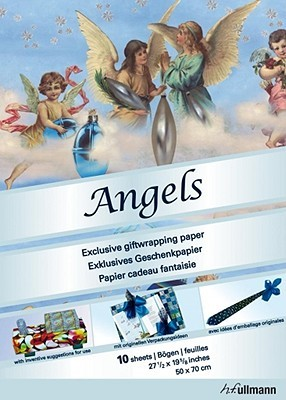 Wrapping Paper Angels  by  H.F. Ullmann