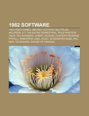 1982 Software: 1982 Video Games, IBM DB2, AutoCAD, Multiplan, Millipede, E.T. the Extra-Terrestrial, Pole Position, Hack, Tax Avoider  by  Source Wikipedia