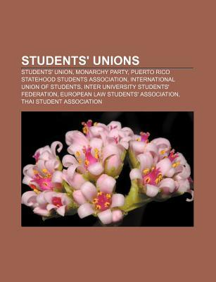 Students Unions: Students Union, Monarchy Party, Puerto Rico Statehood Students Association, International Union of Students Source Wikipedia