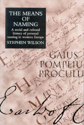 Means of Naming: A Social History