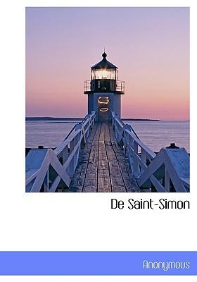 De Saint-Simon Anonymous