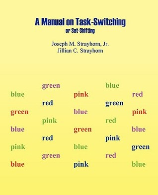 Manual on Task-Switching or Set-Shifting  by  Joseph M. Strayhorn