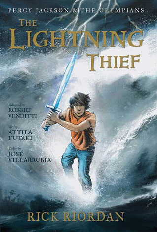 Percy Jackson - The Lightning Thief - Graphic Novel