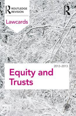 Equity and Trusts  by  Routledge
