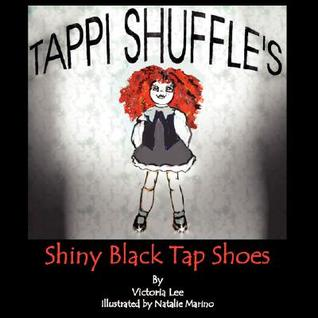 Tappi Shuffles Shiny Black Tap Shoes  by  Victoria Lee