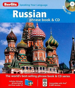 Berlitz Russian Phrase Book & CD  by  Berlitz Publishing Company