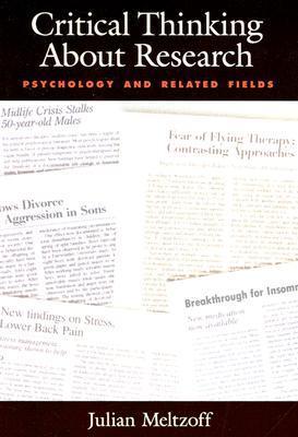 meltzoff (1997) critical thinking about research psychology and related fields Critical thinking about research: psychology and related , critical thinking about research: psychology and related fields  catalogue raisonne of sculpture 1946 1997.