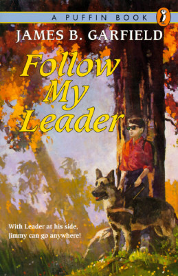 the cover to Follow My Leader by James B Garfield