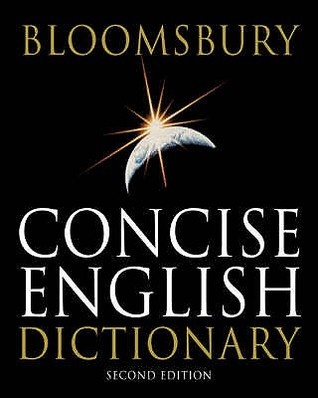 Bloomsbury Concise English Dictionary Kathy Rooney