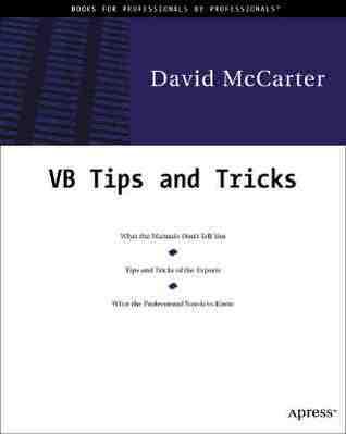 David McCarters VB Tips and Techniques David McCarter