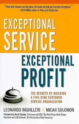 Cover for 'Exceptional Service, Exceptional Profit'