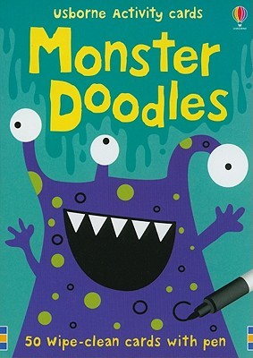 Monster Doodles [With Pens/Pencils]  by  Fiona Watt