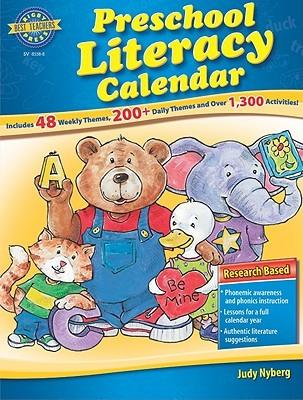Rbtp Preschool Literacy Calendar Various
