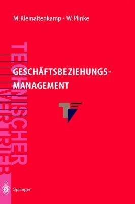 Geschäftsbeziehungsmanagement  by  Bettina Preß