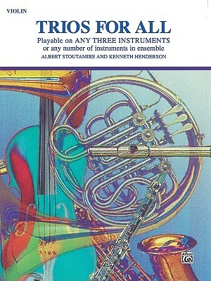 Trios for All: Violin  by  Albert Stoutamire