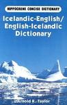 Icelandic-English, English-Icelandic Dictionary