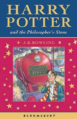 Harry Potter and the Philosopher's Stone by J.K. Rowling book cover