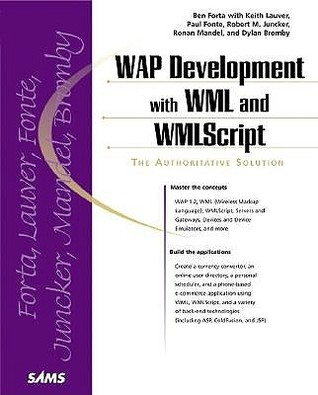 Wap Development With Wml And Wml Script by Ben Forta