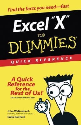 Excel 2003 for Dummies Quick Reference John Walkenbach