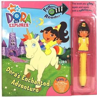 Doras Enchanted Adventure: Follow the Reader Level 2 [With Talking Pen] Harriet Murphy