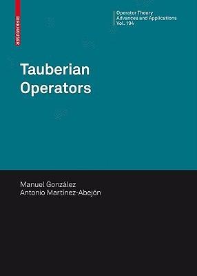 Tauberian Operators, Vol. 194 Manuel Gonzalez