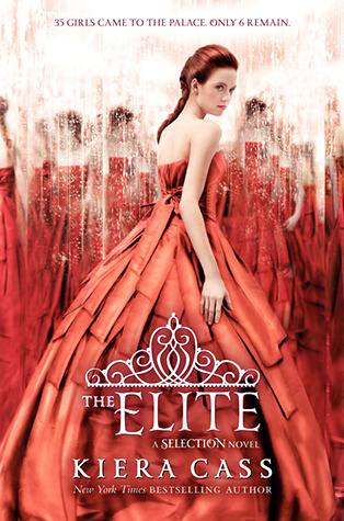 the selection the elite kiera cass book cover