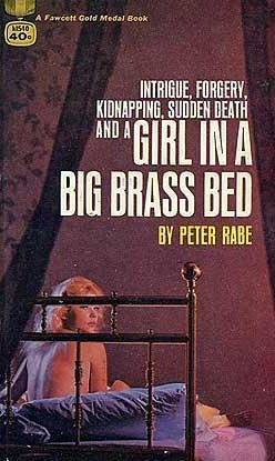 Girl in a Big Brass Bed  by  Peter Rabe