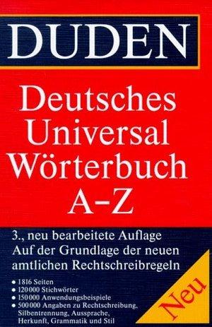 Duden: Deutsches Universal Worterbuch A-Z Duden