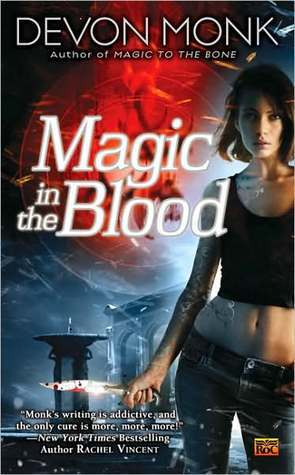 Book Review: Devon Monk's Magic in the Blood