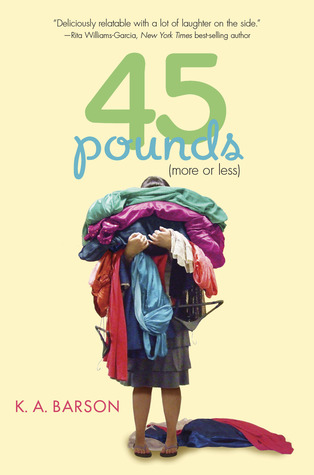 45 pounds by k a barson reviews discussion bookclubs for Less is more boek