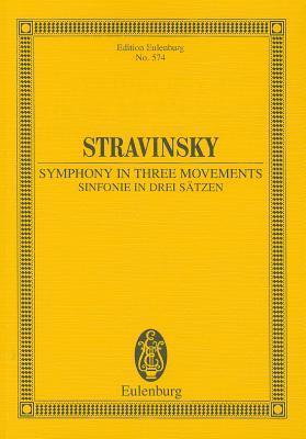 Symphony in Three Movements. Miniature score Igor Stravinsky