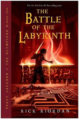 The Battle of the Labyrinth (#4) Book Cover