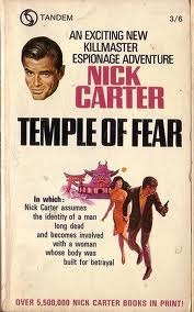 Temple of Fear (Killmaster, #35)  by  Nick Carter