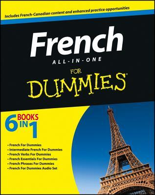 French All-In-One for Dummies, with CD For Dummies
