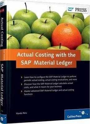 Actual Costing With The SAP Material Ledger Vanda Reis