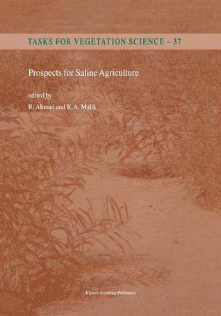 Prospects for Saline Agriculture  by  R. Ahmad
