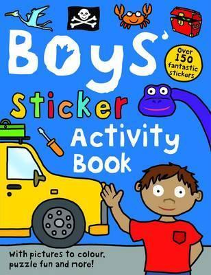 Boys Sticker Activity Book Roger Priddy