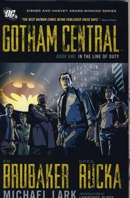 Gotham Central Deluxe Edition, Book 1: In the Line of Duty (2004)