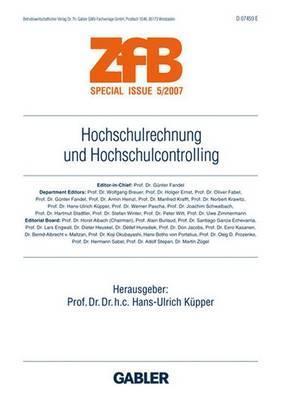 Hochschulrechnung Und Hochschulcontrolling  by  Hans-Ulrich K. Pper