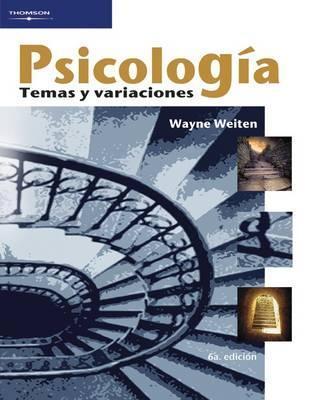 Psicologia Wayne Weiten