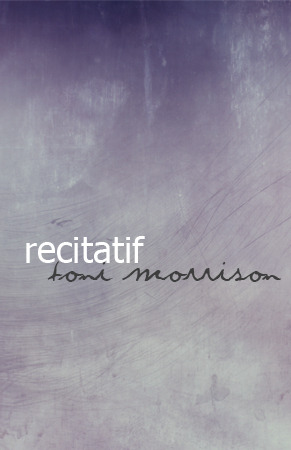 toni morrison s recitatif twyla and roberta s Recitatif by toni morrison 'recitatif', by toni morrison, is a profound narrative that i believe is meant to invite readers to search for a buried connotation of the experiences that the.