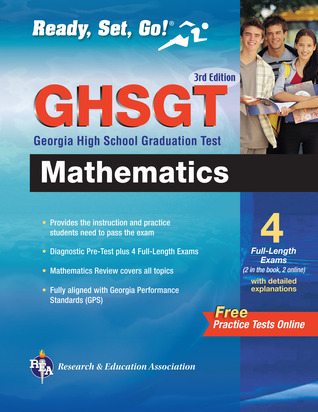 Georgia GHSGT (Georgia High School Graduation Test) Mathematics 3rd Edition Research & Education Association